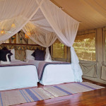Sarova Game Camp Standard Tents - Interior