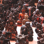 Various Buddhas of Anjuna Flea market - photo-@cc-Kandukuru-Nagarjun
