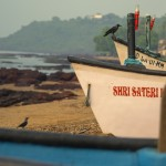Goa Beach - Boats