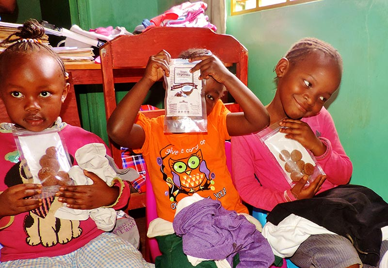 Crianças no Quênia - Projeto Hai África