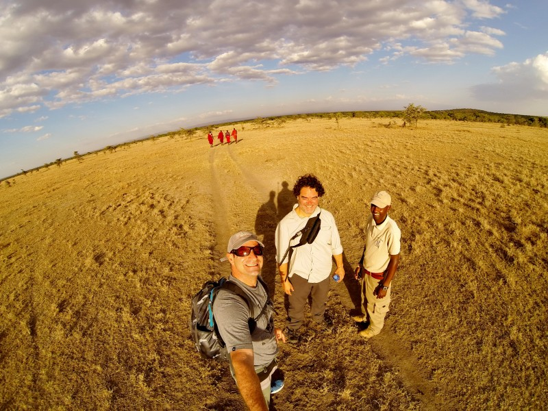 Maasai Mara Walking Drive