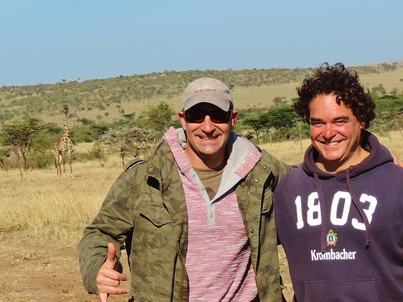Safári no Quênia - Meu amigo colombiano